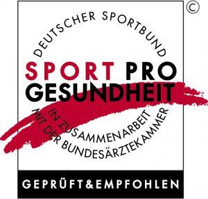 Gütesigel Sport pro Gesundheit Deutscher Sportbund